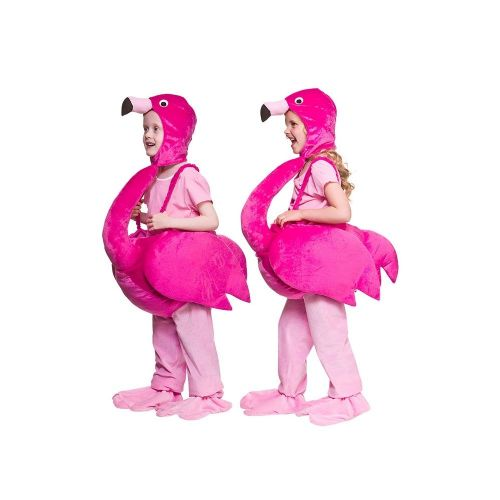 Childrens Child Flamingo Costume Unisex Fancy Dress
